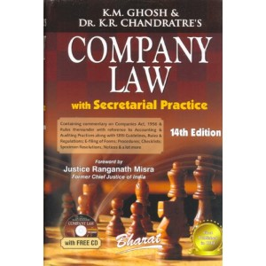 Bharat 's Company Law With Secretarial Practice Volume - II [HB] by K.M.Ghosh & K.R. Chandratre